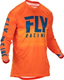 Fly Racing 2019 Lite Hydrogen Jersey (SMALL) (ORANGE/NAVY)