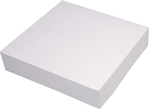 Firplast 100122 - Caja de cartón, 35 x 8 cm: Amazon.es: Hogar