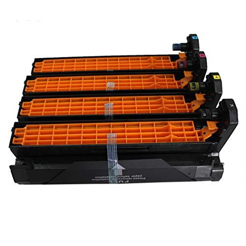 Compatible with OKI C5600 C5650 Drum Holder for OKI C5600 5650 5700 5750 5800 5850 5900 5950 5500 Color Laser Printer Drum Photosensitive Drum Kit,4Colors