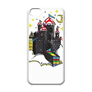 iPhone 5c Cell Phone Case White PSYCHEDELIC KINGDOM OJ419082