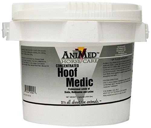 AniMed Hoof Medic Hoof Supplement for Horses, 4-Pound