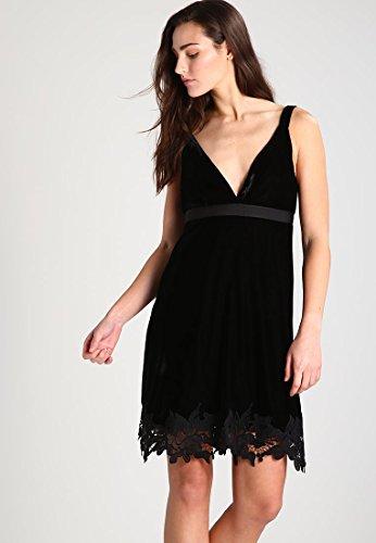 Kleid Damen Abendkleis Schwarz Selfridge 36 Miss Größe ERqO4anwW