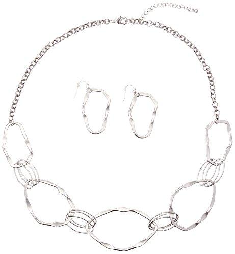 Koehler 10016234 26.625 inch Woven Circles Jewelry - Ss Aero