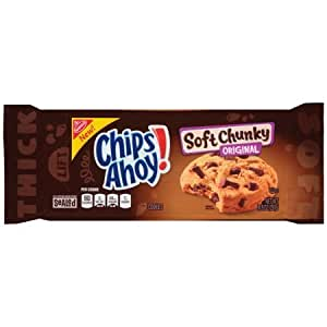 Pack of 3 Christie Chips Ahoy! Soft Chunky Original Chocolate Chip Cookies 300g Chips Ahoy Combo Pack by Thirsty Jini