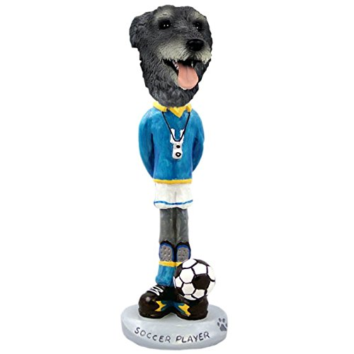 Amazon Com Irish Wolfhound Soccer Doogie Collectible Figurine Home