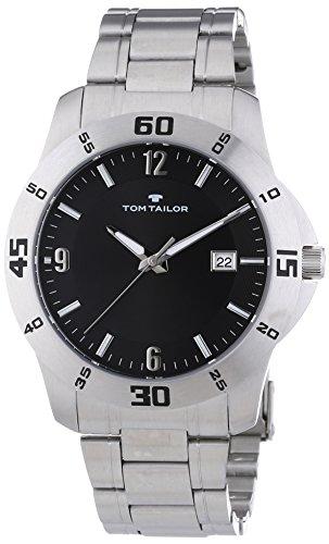 TOM TAILOR Herren-Armbanduhr XL Analog Quarz Edelstahl 5413201