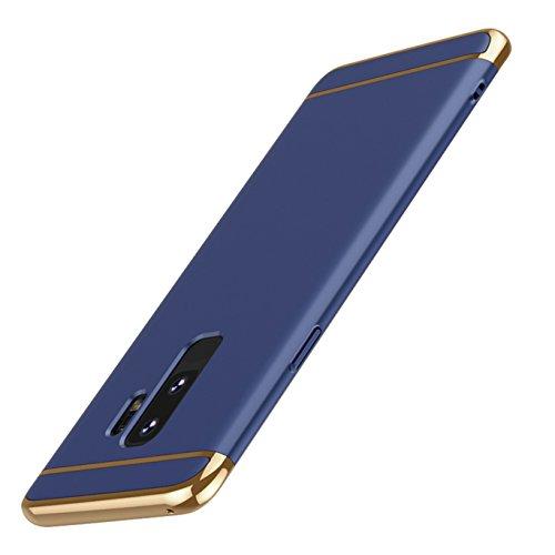 ldea Galaxy S9Plus funda, 3en 1ultra Carcasa rígida de a prueba de golpes para Galaxy S9Plus, Azul, 18*9*1