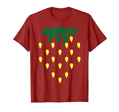 Strawberry Costume Shirt - Cute Halloween Costume Funny