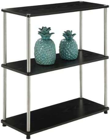 Convenience Concepts Designs2Go 3-Tier Bookshelf