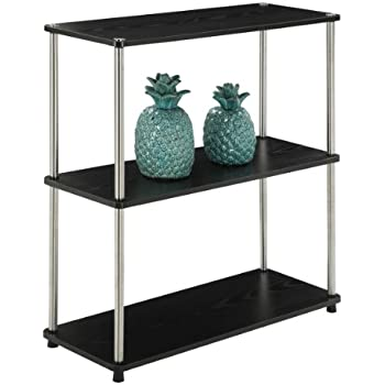 itm trolley office image loading storage s rustic metal tier bookshelf industrial loft shelving is