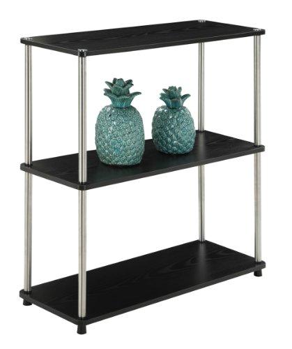 (Convenience Concepts Designs2Go 3-Tier Bookshelf,)