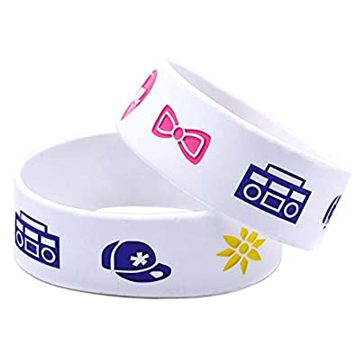 Luziang Silicone Bracelets With Logo Little Mix Rubber Wristbands For Girls Motivation Set Pieces Estimated Price £27.99 -