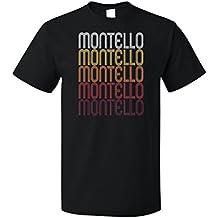Montello, WI | Retro, Vintage Style Wisconsin Pride T-shirt