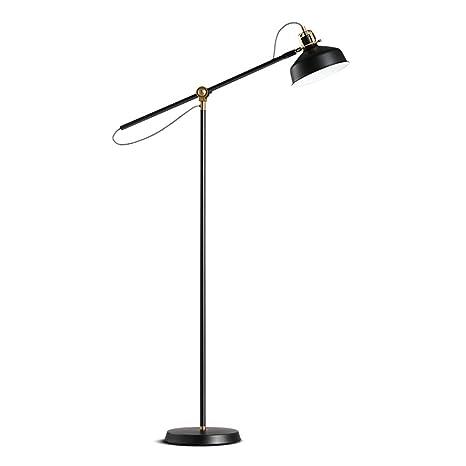 UYSJ E27 Lámpara De Pie Moderno Suelo Industrial, Lectura ...