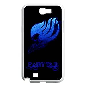 The Deep Blue Fairy Tail Logo For Japanese Anime Fairy Tail Samsung Note2 N7100 Best Durable Cover Case
