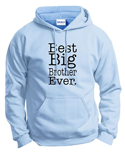 Big Brother Little Brother Shirts Best Big Brother Ever Big Brother Hoodie Sweatshirt Small Ltblu