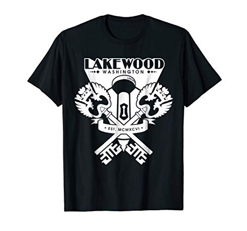 Lakewood WA Washington Tee - 253 Keys Water Tower Shirt