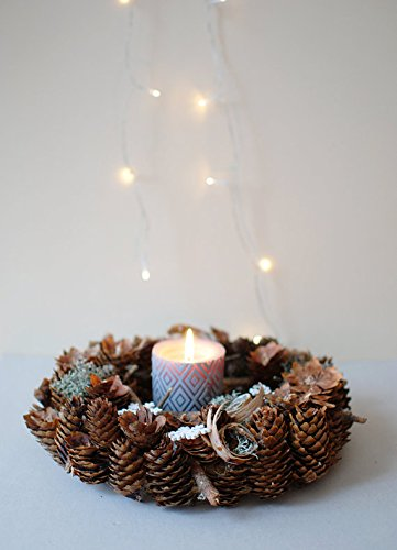 holiday wreath natural christmas wreath table centerpiece natural christmas decorations natural door