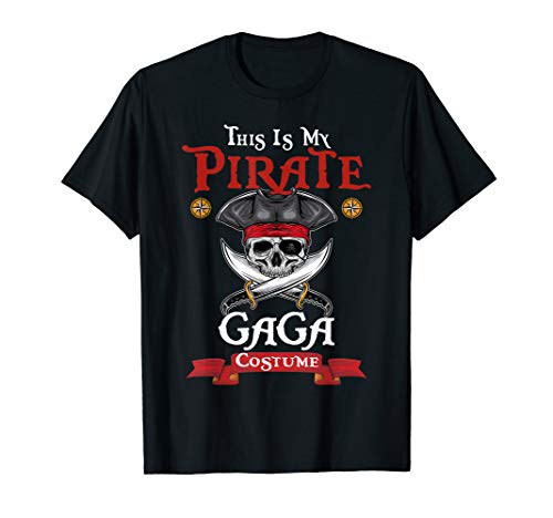 This Is Pirate Gaga Costume Halloween