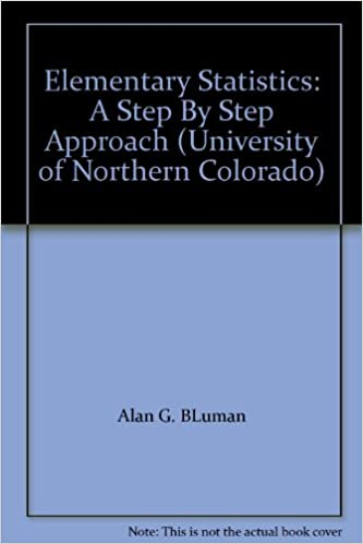 Elementary Statistics A Step By Step Approach University Of
