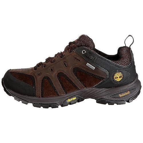 Nobuck Dk Cuero Lthr Hombre Timberland Senderismo Zapatillas Para Brn Gtx Ledge Low 57165 De IxgPap