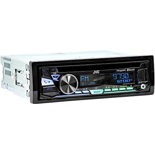 Mp3 Showcase - JVC 1-DIN Car Stereo In-Dash CD MP3 USB AM/FM Player Built-in Bluetooth Receiver