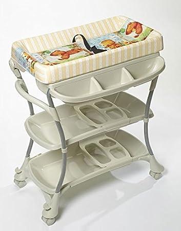 Premium Baby Spa Bathtub And Changing Table Stations Combo U0026 Bib And Burp  Set