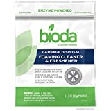 Bioda Garbage Disposal Foaming Cleaner & Freshener, Professional Strength, 8-Pack