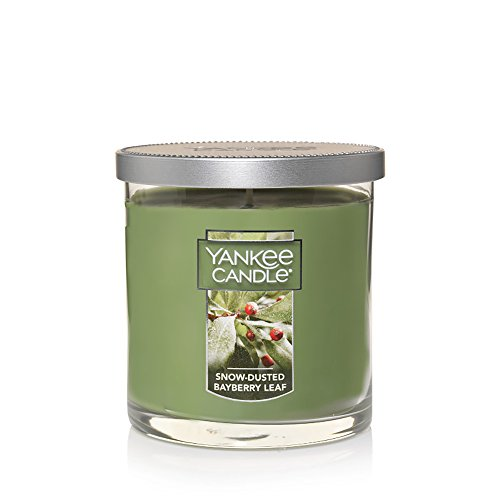 - Yankee Candle Small Tumbler Scented Candle, Snow-Dusted Bayberry Leaf
