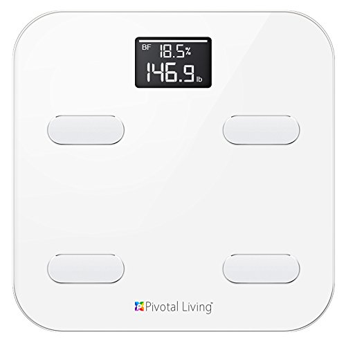 Pivotal Living Bluetooth Smart Scale, White