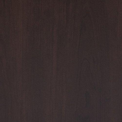 042666111553 - Sauder Beginnings Desk with Hutch, Cinnamon Cherry Finish carousel main 4