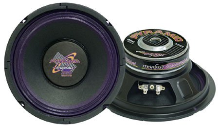 Cloth Surround 8 Ohm 100W Rms Woofer Pro Audio 8 with Headphones