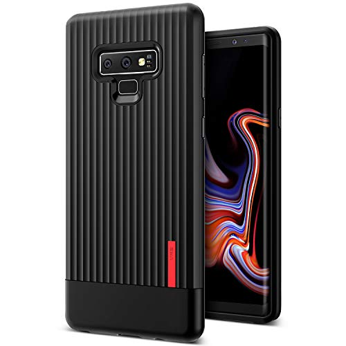 Note 9 Case, VRS Design [Black] Slim Full Body Protective [Single fit] Ultra Thin for Samsung Galaxy Note 9 (2018)