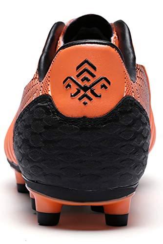 Saekeke Chaussures de Football pour Filles FG/AG Chaussures de Football pour Enfants Garçons TF Chaussures d…