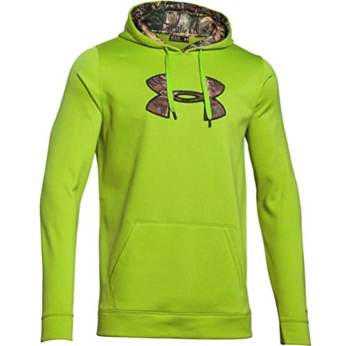 Under Armour Storm Caliber Hoody Tall - Men's Velocity / Realtree Ap Xtra XL Tall