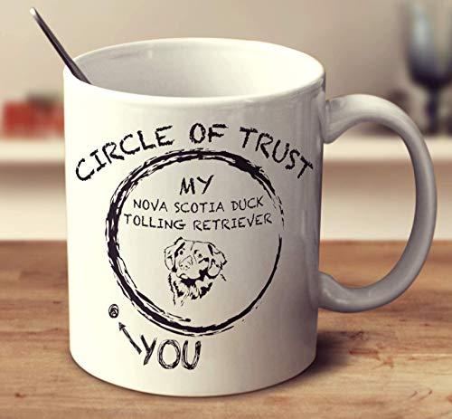 Circle Of Trust Nova Scotia Duck Tolling Retriever Coffee Mug (White, 11 oz) -