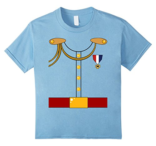 Kids Prince Charming Royalty Costume - Funny Halloween T-Shirt 6 Baby Blue
