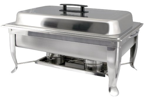 8 Quart Chafer (Winco C-1080 8-Quart Foldable Frame Chafer Set, Full)