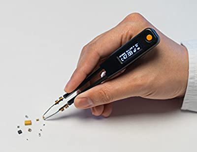 LCR Research Elite1 - LCR Meter / ESR Meter / Digital Multimeter / SMD Tester / Smart SMD Tweezers / In Circuit Debugger