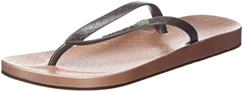 Ipanema Damen Anatomic Brilliant III Fem Zehentrenner, Mehrfarbig (Rose/Brown), 40 EU