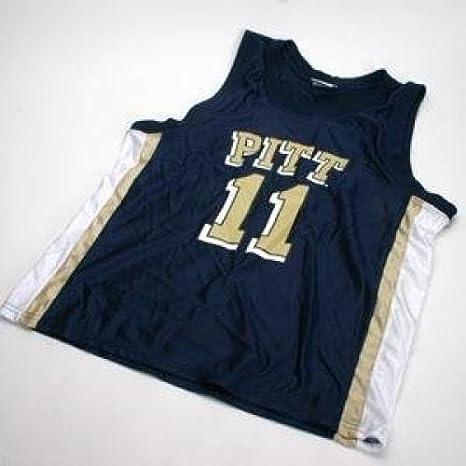 sports shoes 80f1b 1ac2c Amazon.com : Pittsburgh Panthers Basketball Jersey : Sports ...