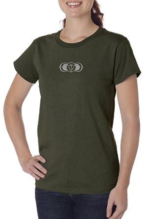 Amazon.com: Señoras Yoga – Camiseta Ajna Third Eye Chakra ...