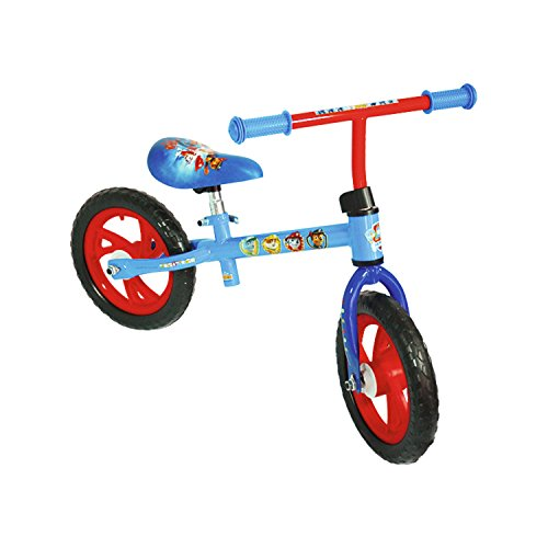 Paw Patrol–Bicicleta sin pedales para niños pat' patrulla