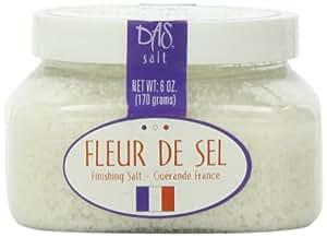 Das Foods Fleur de Sel De Guerande- French Sea Salt ; 6oz