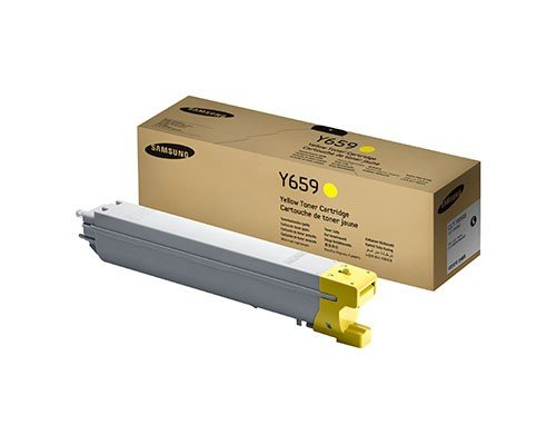 CLTY659S Genuine Samsung Toner Cartridge, 20000 Page-Yield, Yellow