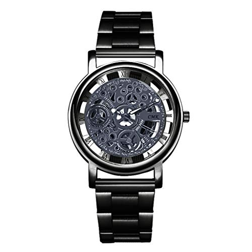 (Mens Watches,Fxbar Luxury Design Men Analog Wrist Watch Charming Husband's Business Wristwatch Dress Watch(Black) )