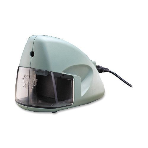 Mighty Mite Electric Pencil Sharpener, Mineral Green (HUN19500) by X-Acto by X-Acto (Image #1)