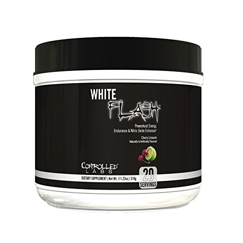 Controlled Labs White Flash 20 Serving, Cherry Limeade, 0.4 ()