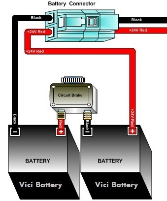 razor scooter battery - 4.5ah/20hr w/reset wires for razor ... razor e100 battery wiring schematic