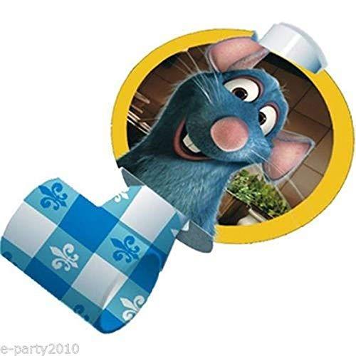- RATATOUILLE BLOWOUTS (8) ~ Birthday Party Supplies Favors Paper Disney Pixar